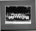 8th grade class, Curtis Baxter 2nd from rt, back row, May 31, 1921