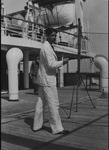Curtis Baxter on board the SS Saturnia sailing to Europe, June 1931