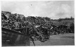 WWI view:Army encampment near Mount Grappa, June 1918
