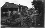 WWI view:In the heart of the little village of Nerver--, June 1918