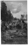 WWI view:,Italian troops after the conquest of the Piave, Aug,, 1918