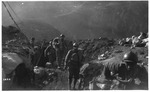 WWI:On the Mount Cornone after reinforced by the troops, Aug., 1918