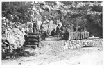 WWI: ---of the 210 English by the Italians on the mountain, May, 1917