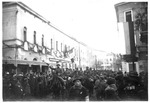 (Armistice Day) The Bersaglieri Corps entering Italian town 11 Nov. 1918