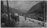 WWI view: Troops heading to action on the Monticelli, August, 1918
