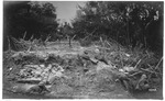 WWI:Soldiers advancing to the grand battle at Jossaeta(?), June 1918
