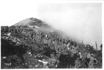 WWI view: Marching on Mount Grappa, 1918, official Italian Army photo,