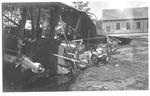 WWI: After the fall of an Italian Caproni at Padua, 1918?