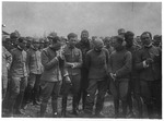 WWI:Return of pilots from Vienna with d'Arrnyis(?) , Aug. 1918
