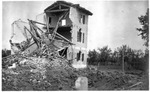 WWI: House at Nervesa during the action of Montello, June 1918