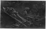 WWI view: Picture of wounded and dead after battle on the Montello, June 1918