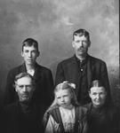 Family of Zathue Copley, ca. 1900