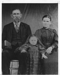 Purported to be Willie Hutchison and wife Mary Elizabeth (Hanshaw) Hutchison