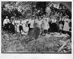 Riggs family reunion, early 1900's,