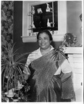 Dr. Alice Mark medical missionary to India, 1956,