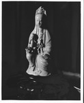 Chinese porcelain figure by Mrs. Edward Williams 1959