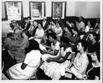 Attendees at WV State Spelling Bee contest, April 29, 1960