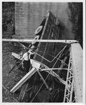 The fallen David Brinkley bridge, Wayne, WV, Sept. 1970