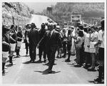 WV Gov. Hulett Smith at dedication of Route 54, Mullens, WV., May 21, 1970