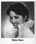Studio portrait of Debbie Davis (later Mrs. Kim Wolfe)