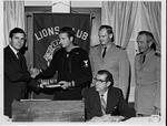 Huntington, WV Lion's Club Meeting, 9 Oct. 1969