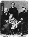 Rev. A.B. Bowers & family, ca. 1880's