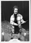 Virginia M. Carey being installed as Regent, Westmoreland Chapter, DAR, 1979 by Jim York