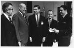 Marshall faculty group, Dec. 30, 1968