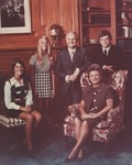 WV Governor Arch A. Moore, Jr., and family, ca. 1970