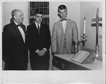 Dr. John W. Hollister and two students, July 1959