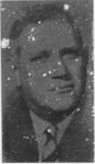 Engraved metal print block of image of Jesse Stuart, ca. 1970's,