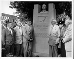 Dedication of the Jesse Stuart monument in Greenup, Ky., 1957