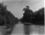 Cyanoprint of Seven Mile Creek, Camden, Oh, Aug. 10, 1903