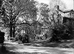 """East end of """"The Sycamores"""", Heacock family home at Wyncote, Pa."""
