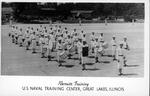 Recruit training, US Naval Training Center, Great Lakes, Ill.