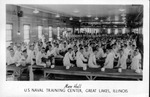 Mess Hall, US Naval Training Center, Great Lakes, Ill.