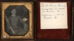 Ambrotype of Annie heacock, ca. 1849-50