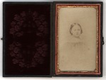 Daguerreotype of wife of Edward Carter as a young girl, belonged to CSA soldier