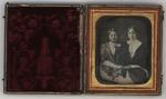 Daguerreotype of Eliza Logan Spindle(?) & Annie E. Pitman Glanville, ca.1860's