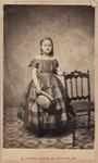 Annie P. Glanville, ca. 1860's