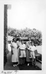 Alfred Whitaker and family, Huntington, W.Va., Aug 1935