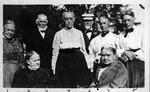 Heacock family reunion at Wyncote, Pa., ca. 1910