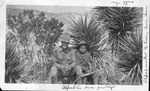 Alfred H. Whittaker in U.S. Army in Mexico, ca. 1916, with unidentified protege