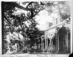 """View of """"The Sycamores"""", Heacock family home at Wyncote, Pa."""
