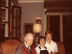 Alfred H., Meg and Chip Whittaker, Christmas 1976