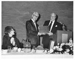 Mrs. Tom Frandsen, Dr. Howard F. Evans, Jack Scallard