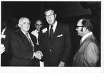Dr. Carl Hoffman at AMA international meeting on health in Tel Aviv, Israel, 1972