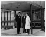 Dr. Carl Hoffman(left), Dr. Ake Hassler, &Dr. Karl.Blom, Flen., Sweden