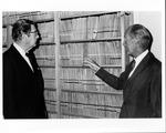 Dr. Von Garrelts and Dr. Carl Hoffman