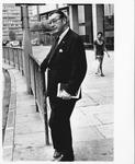 Dr. Carl Hoffman on London street during his European visit